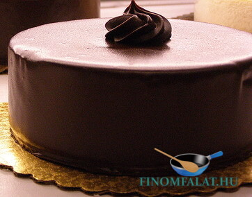 Csokitorta recept