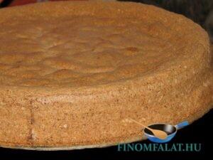 Diós tortalap (Gluténmentes) recept