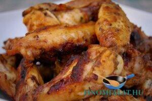 Kentucky csirkeszárnyak recept