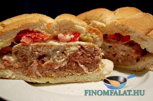Tonhalkrémes szendvics recept