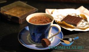 Forró csoki recept
