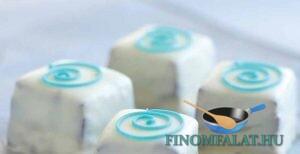 Domino szelet recept