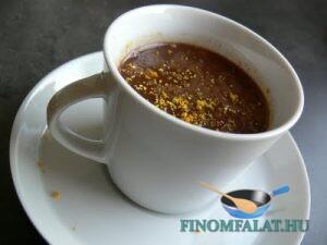 Narancsos forró csokoládé recept