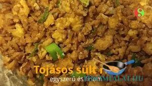 Tojásos sült rizs (vietnámi) recept